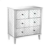 Chatelet Chest In Clear Mirror Finish