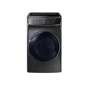 Samsung7.5 cu. ft. FlexDry Electric Dryer in Black Stainless Steel