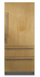 "36"" Custom Panel Fully Integrated Bottom-Freezer Refrigerator, Right Hinge/Left Handle Product Image"
