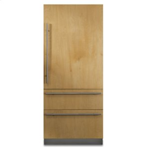"Viking36"" Custom Panel Fully Integrated Bottom-Freezer Refrigerator, Right Hinge/Left Handle"