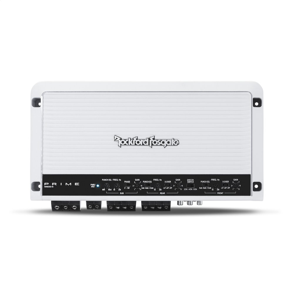 Prime Marine 600 Watt 5-Channel Amplifier