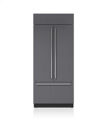 """36"""" Classic French Door Refrigerator/Freezer with Internal Dispenser - Panel Ready"""