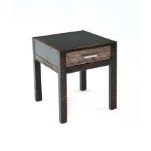 Urban Graphite 1 Drawer End Table