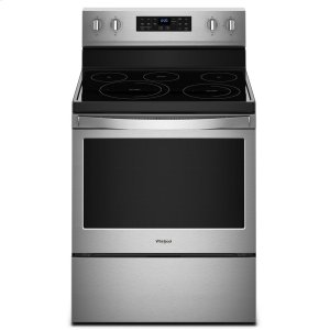 5.3 cu. ft. Freestanding Electric Range with Fan Convection Cooking - FINGERPRINT RESISTANT STAINLESS STEEL