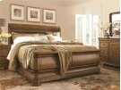 Louie P's Sleigh Bed (Queen) Product Image