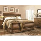 Louie P's Queen Sleigh Bed Product Image