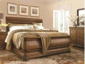 Louie P's Sleigh Bed (Queen)