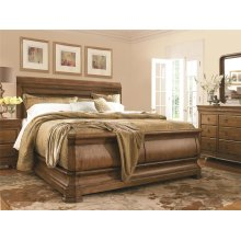Louie P's King Sleigh Bed