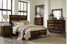 """Timber Nightstand w/USB Port, Brown, 28""""x17""""x28"""" Product Image"""