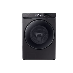 Samsung5.0 cu. ft. Smart Front Load Washer with Super Speed in Black Stainless Steel