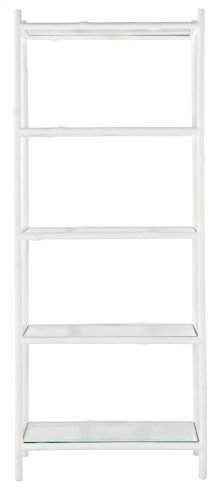 Arbor Etagere in Chalky White