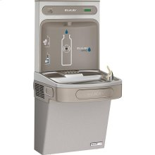 Elkay EZH2O Bottle Filling Station & Single ADA Cooler, High Efficiency Filtered 8 GPH Light Gray