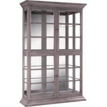 Mirror Back Display Cabinet