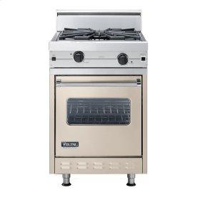 "Taupe 24"" Wok/Cooker Companion Range - VGIC (24"" wide range with wok/cooker, single oven)"