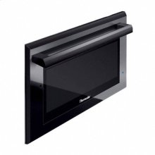 "30"" BLACK CONVECTION WARMING DRAWER FRONT PANEL WITH MASTERPIECE HANDLE. TO BE INSTALLED CONVECTION WARMING DRAWER (WDC30E) - SOLD SEPARATELY."
