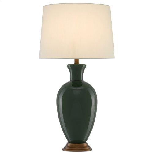 Cybil Green Table Lamp