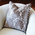 Nuevo Fan Pillow-Silver Product Image