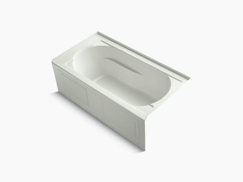 """Dune 60"""" X 32"""" Alcove Bath With Integral Apron, Integral Flange and Right-hand Drain"""