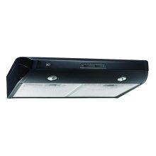 "350 CFM 36"" Under Cabinet Range Hood Black"