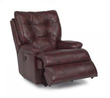 Clarke Leather or Fabric Power Recliner