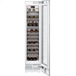 """Gaggenau400 series 400 series wine climate cabinet Fully integrated, panel ready, with glass door Niche width 18"""" (45.7 cm)"""