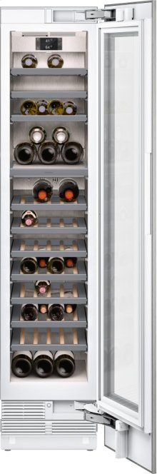 """400 Series Wine Climate Cabinet Fully Integrated, With Two Temperature Zones Niche Width 18"""" (45.7 Cm)"""