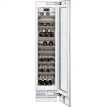 """400 series 400 series wine climate cabinet Fully integrated, with glass door Niche width 18"""" (45.7 cm)"""