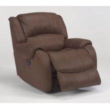 Pure Comfort Fabric Gliding Recliner