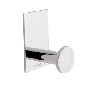 Satin Nickel Single Robe Hook