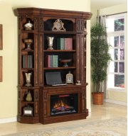 2pc Fireplace Base & Hutch Product Image