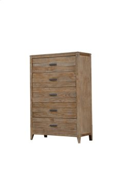 Emerald Home Torino 5 Drawer Chest Sandstone B323-05