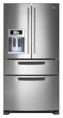 Maytag® Ice2O® 4-Door French Door Refrigerator with LCD Display