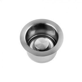 Brushed Stainless - Extra Deep Disposal Flange with Stopper