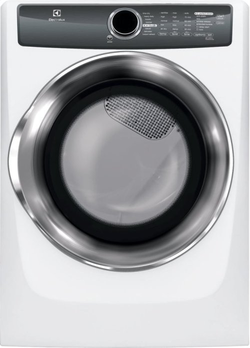 Front Load Perfect Steam Gas Dryer with Instant Refresh and 8 cycles - 8.0 Cu. Ft.