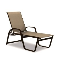 Aruba Sling Four-Position High Bed Lay-flat Stacking Chaise
