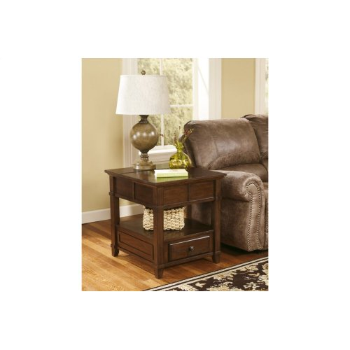 RED HOT BUY- BE HAPPY ! Rectangular End Table