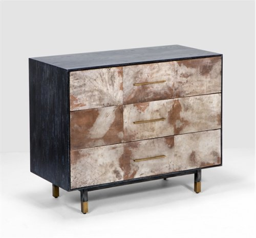 Sierra 3 Drawer Chest - Dusk