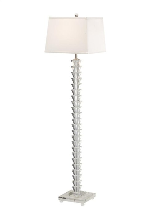 Stacked Crystals Floor Lamp