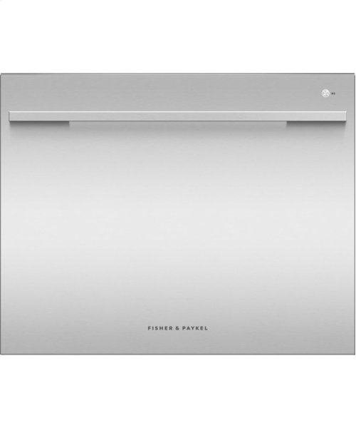 Single DishDrawer Dishwasher, 7 Place Settings, Sanitize (Tall)