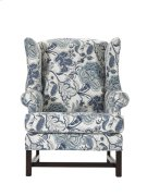High Back Chair with Cherry Chippendale Base Product Image