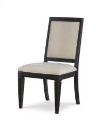 Upholstered Back Side Chair - Peppercorn