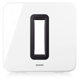 SonosWhite- The subwoofer for more intense bass