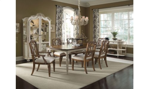 Provenance Rectangular Dining Table - English Toffee