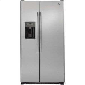 ®21.9 Cu. Ft. Counter-Depth Side-By-Side Refrigerator - STAINLESS STEEL
