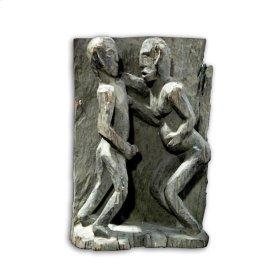 Old Nagaland Carved Figure 26x9x40