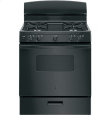 """GE® 30"""" Free-Standing Front Control Gas Range"""