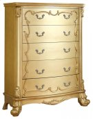 "Zelda Gold Chest - 44""L x 20""D x 56""H Product Image"
