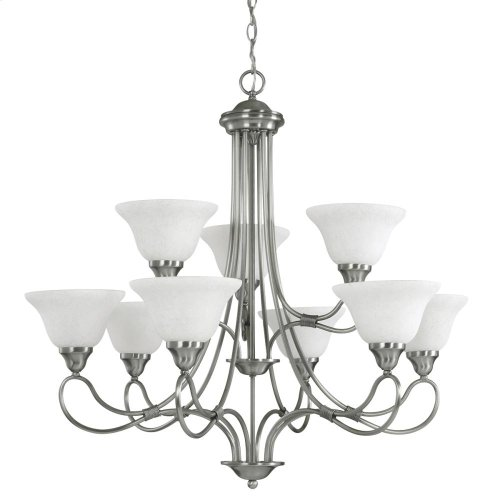 Stafford Collection Chandelier 9Lt AP