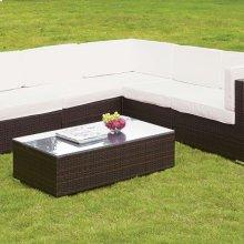 Zendaya Patio Sectional W/ Coffee Table