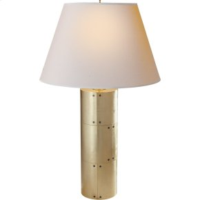 Visual Comfort AH3034NB-NP Alexa Hampton Yul 30 inch 40 watt Natural Brass Decorative Table Lamp Portable Light